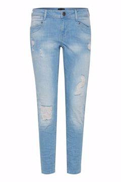 PULZ Nadja Highwaist Ankle Length Jeans