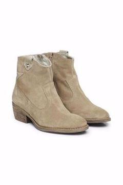 CREAM Zasha Western Boot