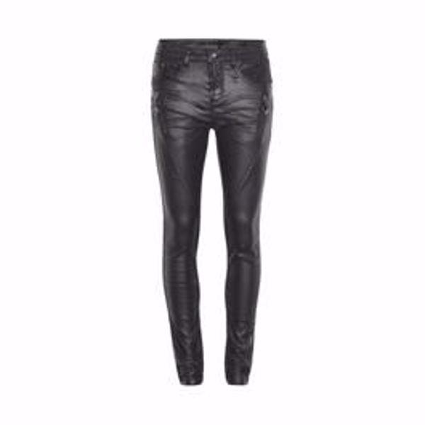 cream Bibiana coated jeans - SHAPE