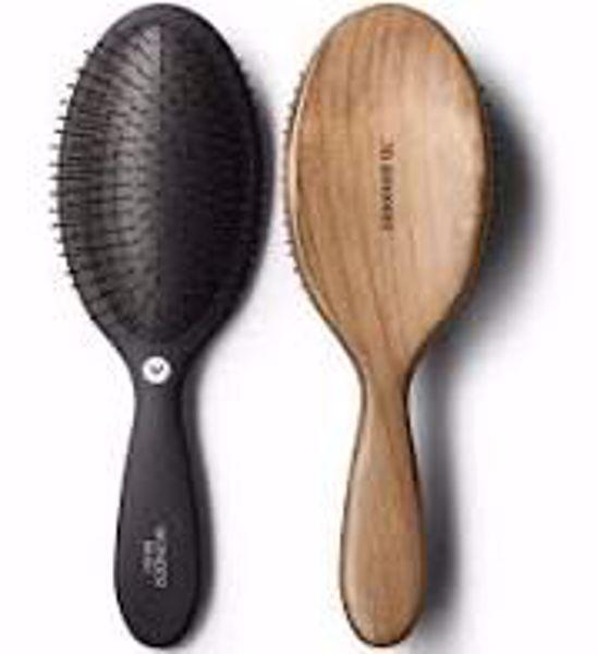 HH Wonder Brush Duo - Black/dark wood